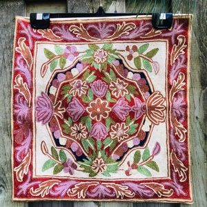 NEW Decorative Indian Embroidered Cushion Cover